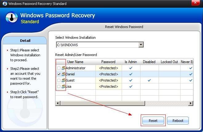 Windows password recovery img7