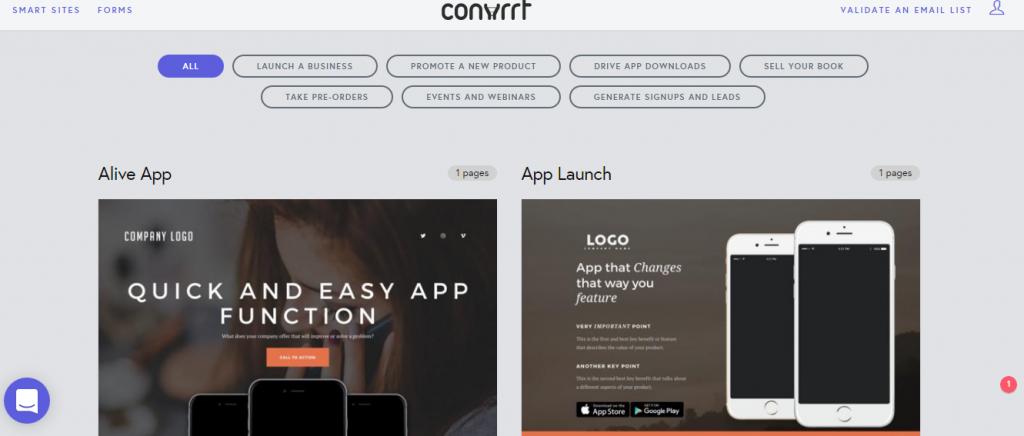 Convrrt app functions