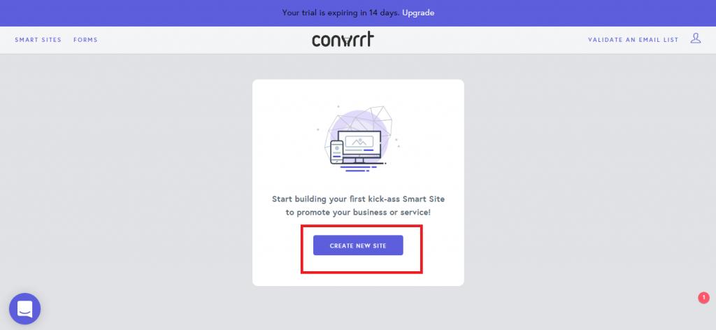 Convrrt new sites