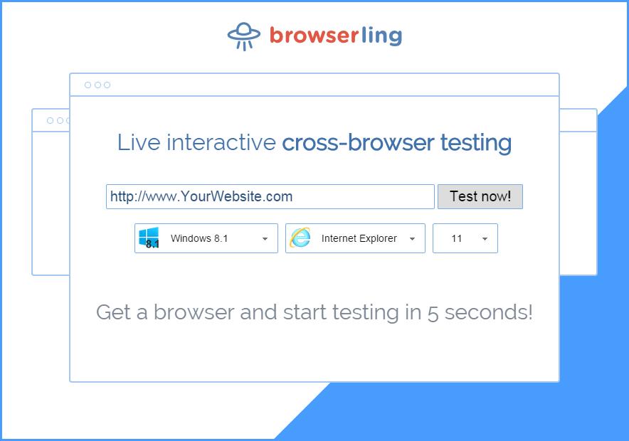 Browserling browser emulator