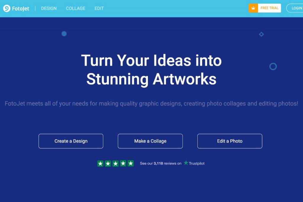 FotoJet Graphic Designer, Collage Maker, Photo Editor