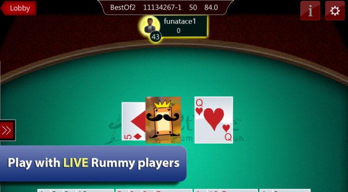 Ace2three rummy game