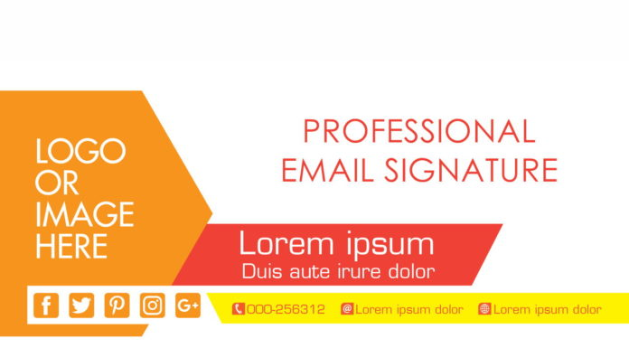 Professional Email Signature Gmail
