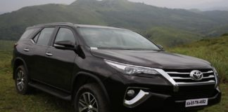 Best cars - Toyota Fortuner