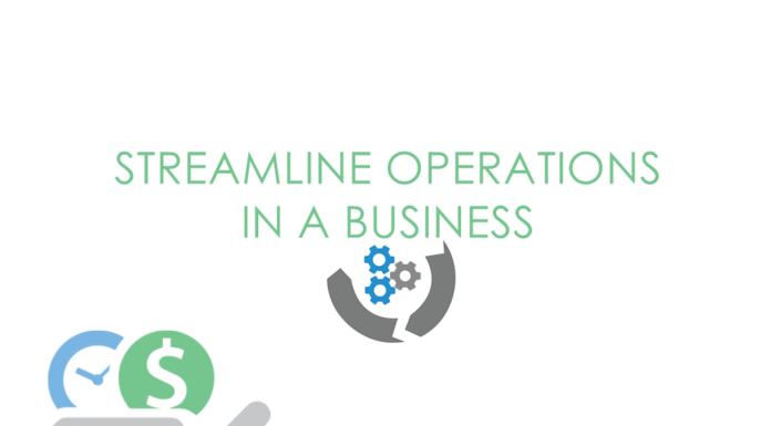 Streamline operations in a business