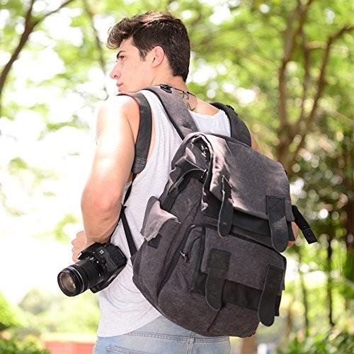 bestek waterproof camera bag use