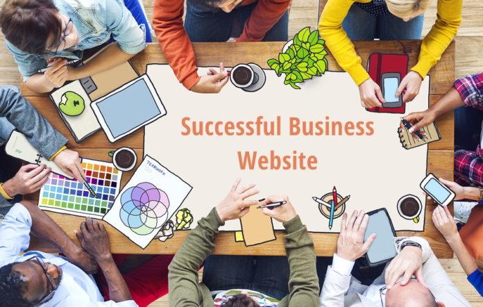 Successful business website