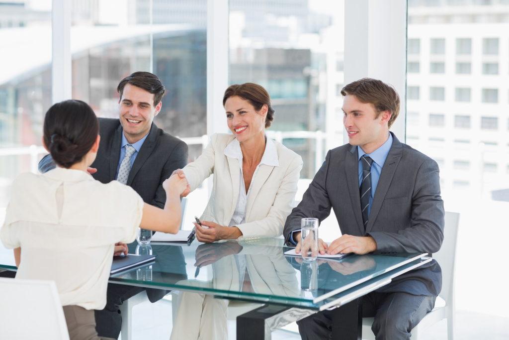 Recruitment meeting