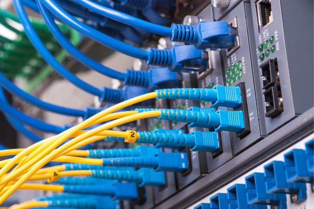 Why is my fiber optic internet slow