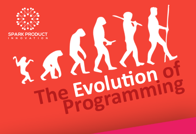 The evolution of computer languages infographic