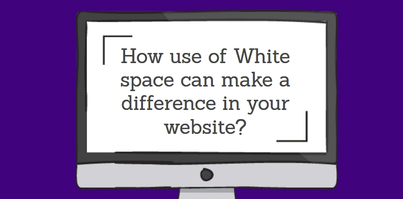 How use of White space can make a difference in your website