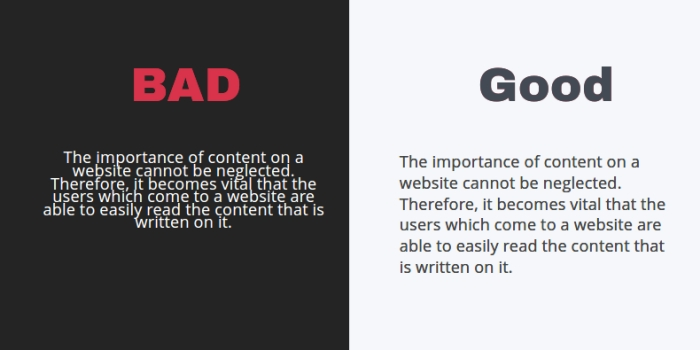 Increases Content's Readability