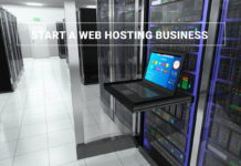 Start web hosting business