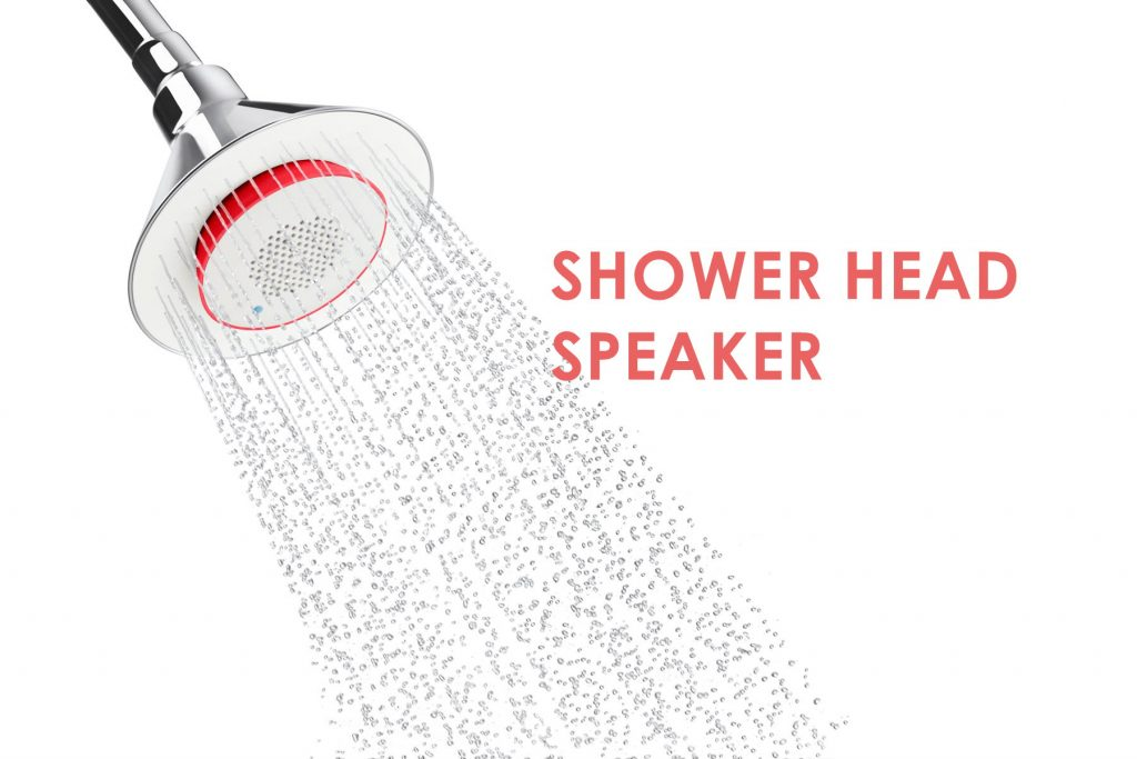 kohler shower head with speaker