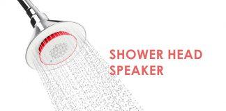 kohler shower head with speaker