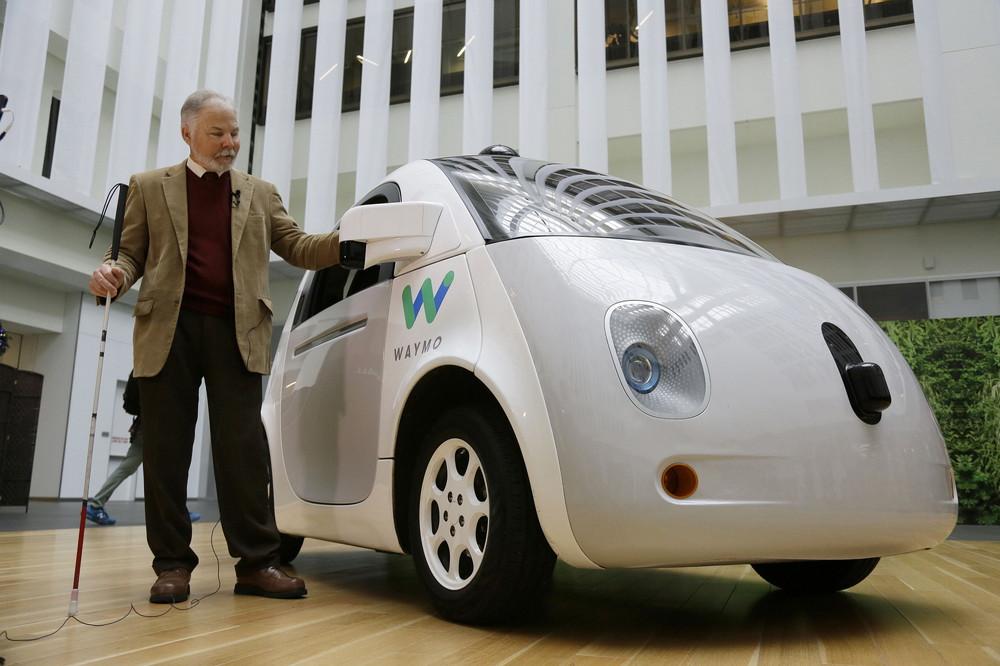 Waymo driverless car by Google