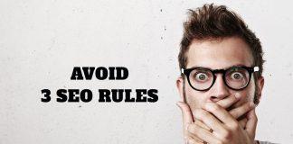 3 SEO rules penalizing you