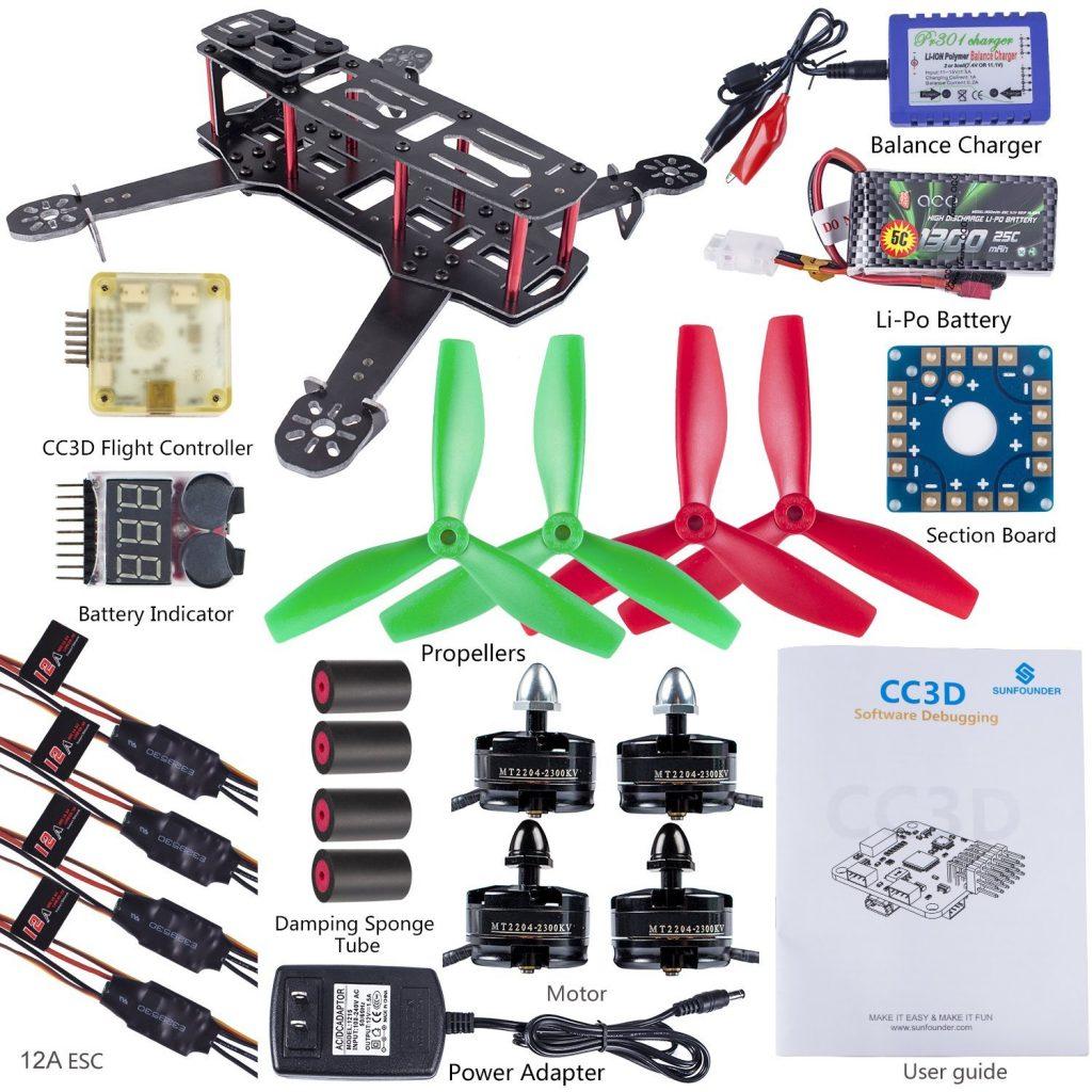 SunFounder 250 Quadcopter kit