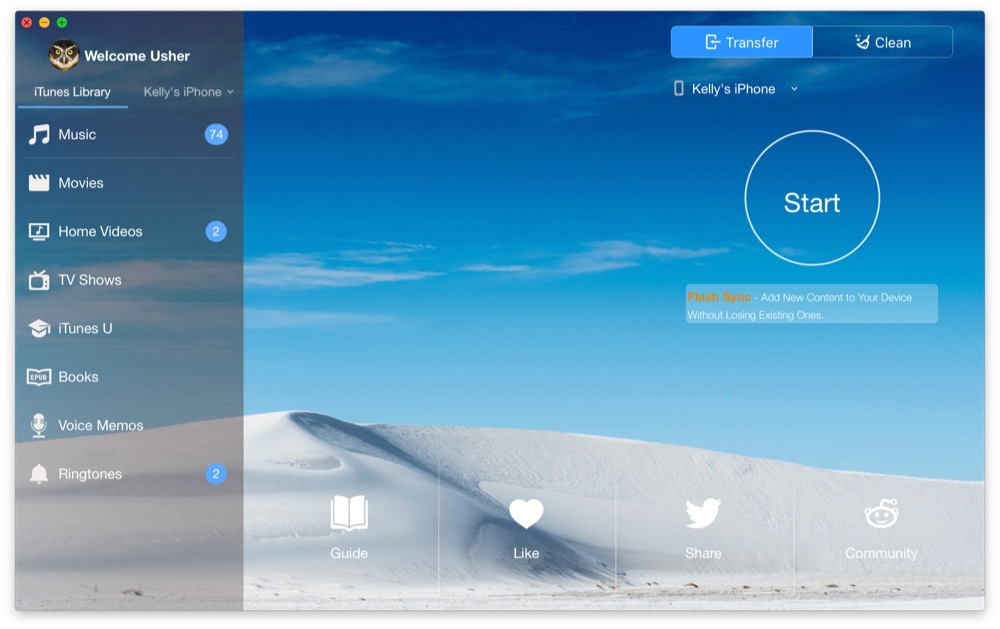 SyncBird Free Edition to iOS Sync & iTunes Cleaning