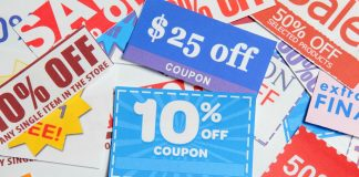 Coupons help in business promotion