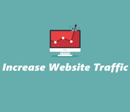 Increase traffic and get website noticed