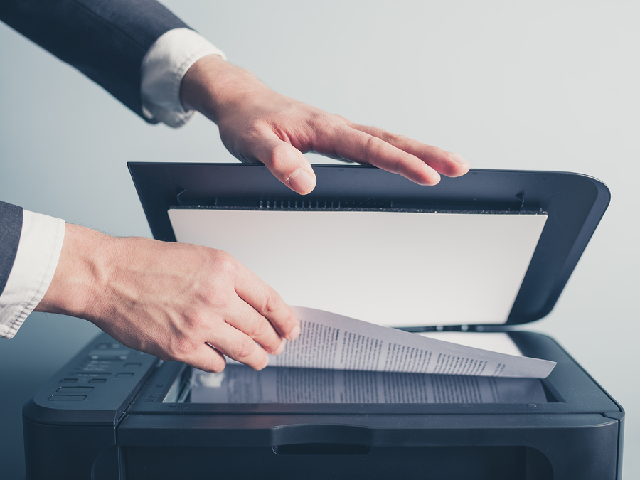 Document Scanner to Reduce Paper Waste