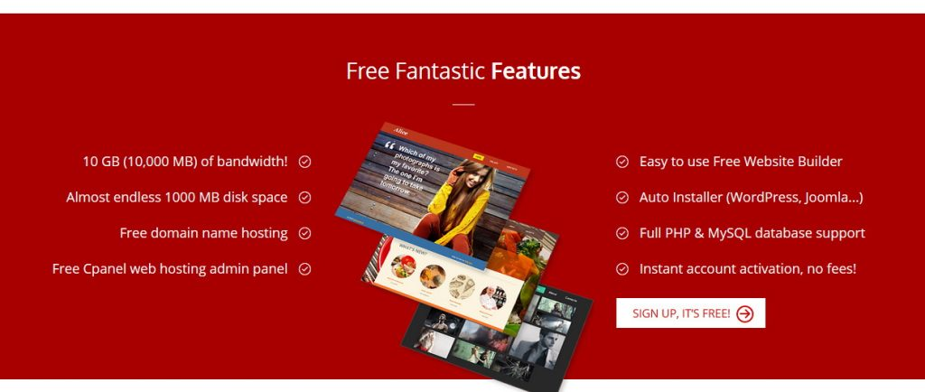 Free fantastic features