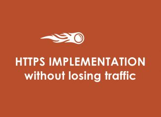 HTTPS implementation without losing traffic