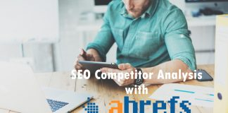 SEO Competitor Analysis using Ahrefs