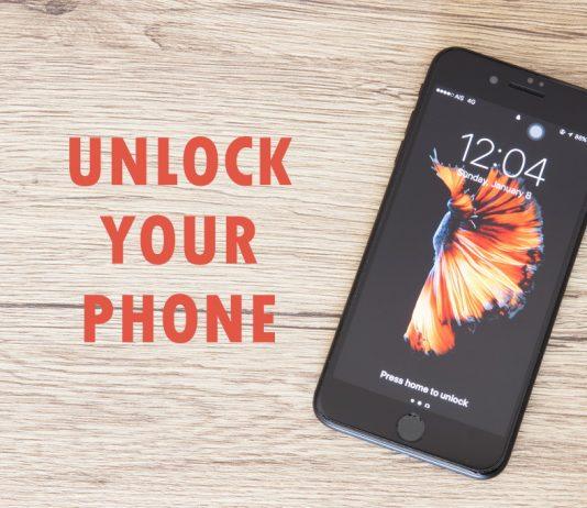 Unlock your phone