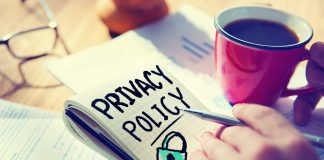 Blog Privacy Policy Concept