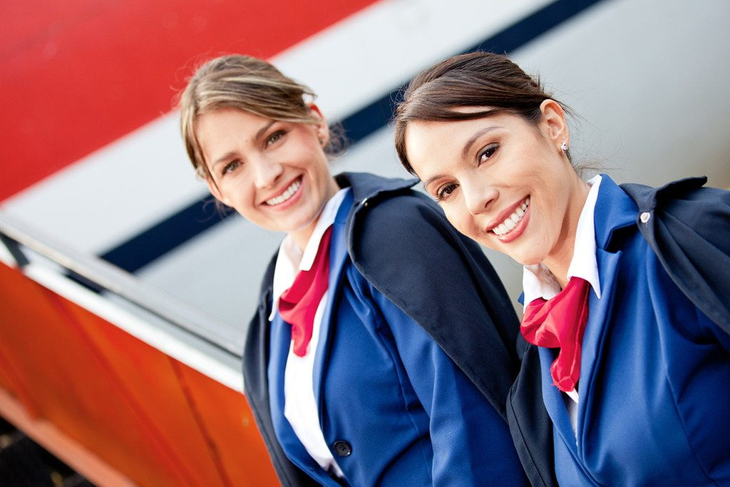 How to become an air hostess, flight attendant, or steward