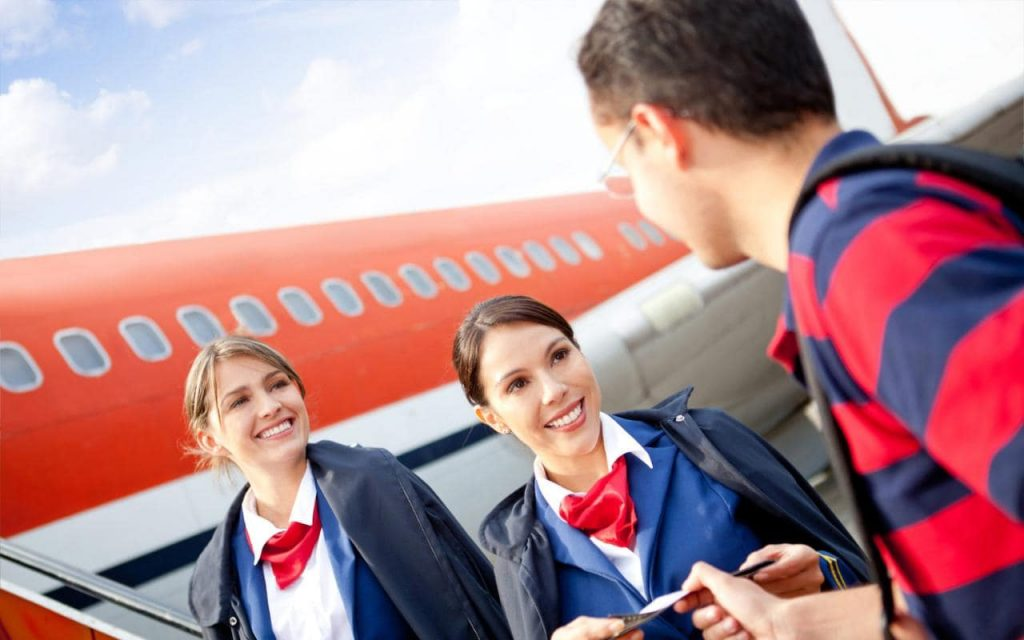 How to become an air hostess