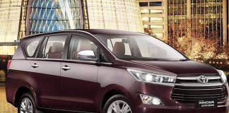 Toyota Innova Crysta SUV - the best suvs under 10 lakh