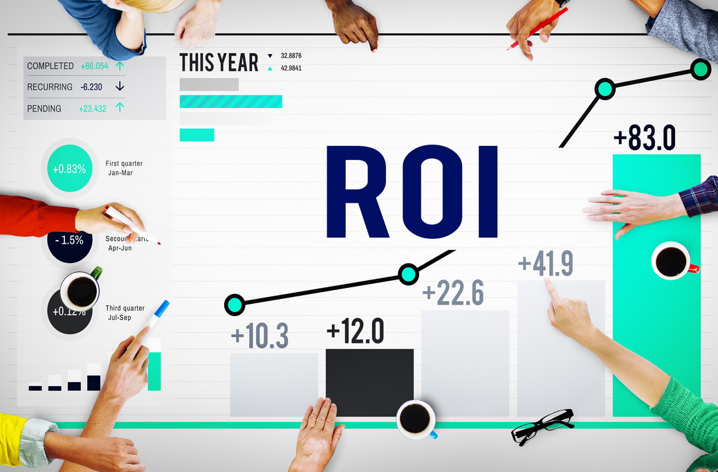 Increase marketing ROI - Return on Investment