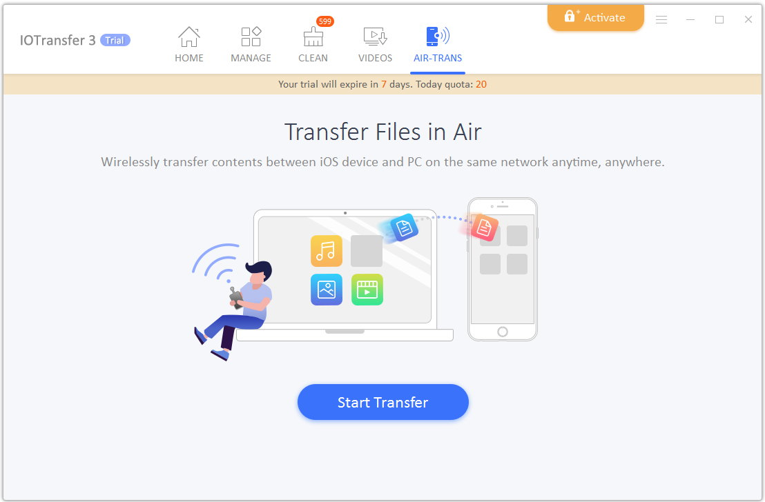 iotransfer 3 transfer files