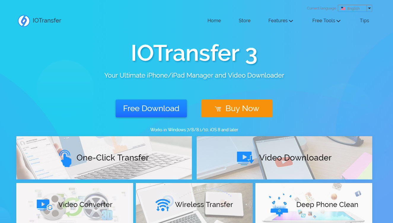 IOTransfer 3 Features