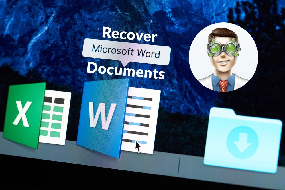 Recover lost Word documents on Windows