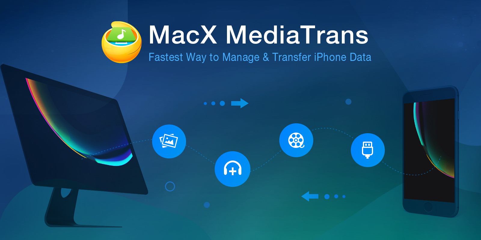 MacX MediaTrans Giveaway -Backup iPhone Photos, Music, Videos Free