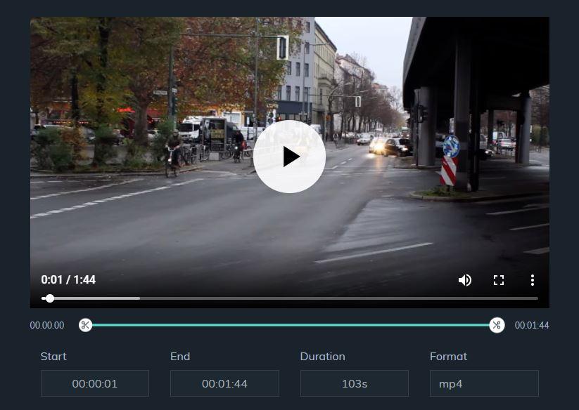 Filmora video cutter