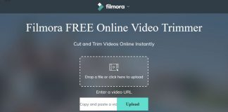 Wondershare filmora free online video trimmer