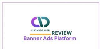 ClicksDealer Review Banner Ads Platform