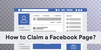 How to claim a Facebook page?