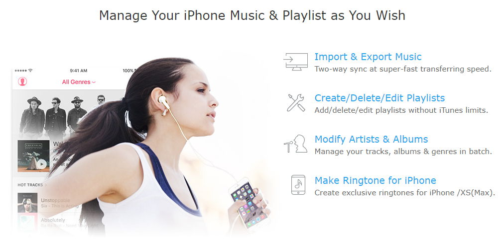 MacX Mediatrans manage iphone music