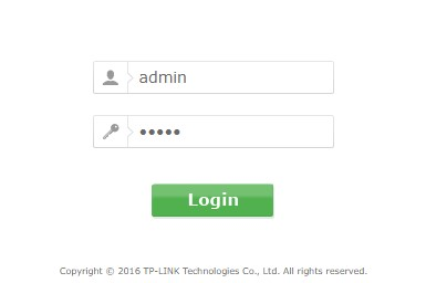 TP-link wireless router login close look