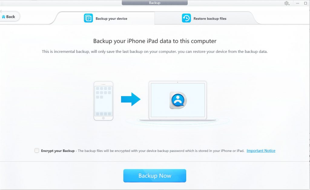 DearMob iPhone Manager Backup