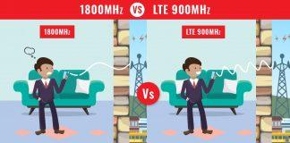 LTE 1800 Mhz vs LTE 900 Mhz