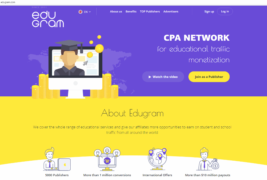 Edugram - CPA Network