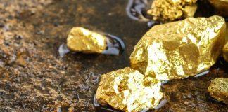 Gold ores
