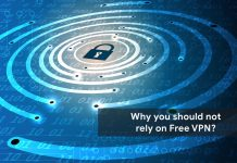 Stop Using a free VPN service